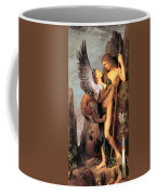 Oedipus And The Sphinx Coffee Mug