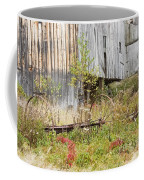 Old Barn In Fall Maine Coffee Mug by Keith Webber Jr