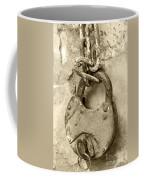 Old Padlock Coffee Mug