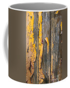 Old Wooden Background Coffee Mug by Carlos Caetano