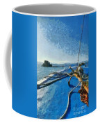 On The Way To Bourtzi Fortress Coffee Mug