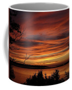 Outer Banks Sunset Over Bay And Colington Island Coffee Mug