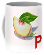 P Art Alphabet For Kids Room Coffee Mug