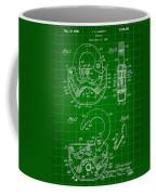 Padlock Patent 1935 - Green Coffee Mug