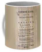 Paine: Common Sense, 1776 Coffee Mug by Granger