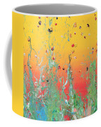 Paint Number Ninteen Diptych Coffee Mug