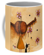 Painting Flowers Coffee Mug