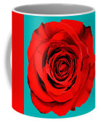 Painting Of Single Rose Coffee Mug