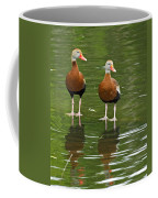 Pair Black-bellied Whistling-ducks Coffee Mug