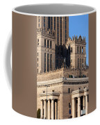 Palace Of Culture And Science In Warsaw Coffee Mug by Artur Bogacki