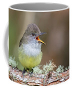 Pale-edged Flycatcher Coffee Mug