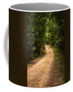 Pathway In The Woods Coffee Mug