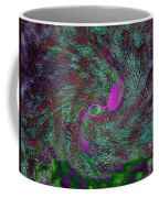 Peacock Dreams Coffee Mug
