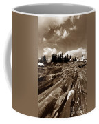 Pemaquid Rocks Coffee Mug by Skip Willits