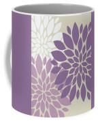 Peony Flowers Coffee Mug