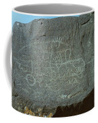 Petroglyph Rock Coffee Mug