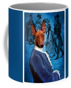 Pharaoh Hound Art Canvas Print Coffee Mug