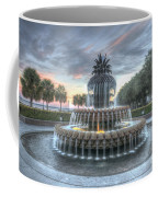 Majestic Sunset In Waterfront Park Coffee Mug