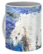 Polar Bear Reflection Coffee Mug
