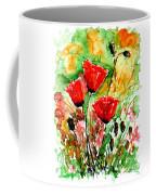 Poppy Lawn Coffee Mug