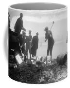 Prohibition Feds Destroy Liquor  1923 Coffee Mug