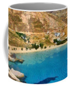 Psili Ammos Beach In Serifos Island Coffee Mug