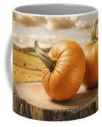 Pumpkins Coffee Mug by Amanda Elwell