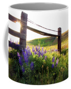 Purple Wildflowers Coffee Mug