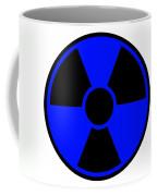 Radiation Warning Sign Coffee Mug