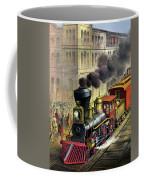 Railroad, 1874 Coffee Mug
