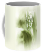 Raindrops On Grass Coffee Mug