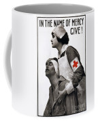Red Cross Poster, 1917 Coffee Mug