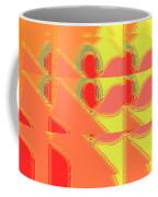 Red Effect Coffee Mug