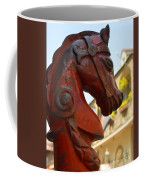 Red Horse Head Post Coffee Mug