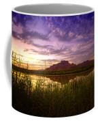 Red Mountain Reflections  Coffee Mug