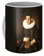 Rembrandt's An Old Lady With A Book Coffee Mug