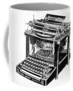 Remington Typewriter Coffee Mug