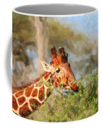 Reticulated Giraffe Kenya Coffee Mug