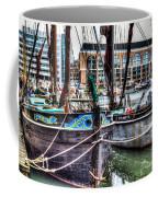 River Thames Sailing Barges. Coffee Mug