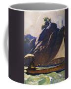 Robinson Crusoe, 1920 Coffee Mug
