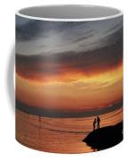Rock Harbor Sunset Coffee Mug