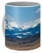 Rocky Mountains Road Coffee Mug