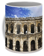 Roman Arena In Nimes France Coffee Mug