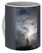 Romantic Couple On A Mountain Peak Coffee Mug