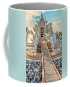 Rong Khun Temple Coffee Mug by Adrian Evans