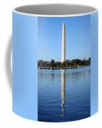 Roosevelt Looking At Washington Coffee Mug