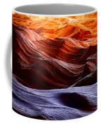 Rough Sea Coffee Mug by Inge Johnsson