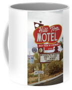 Route 66 - Hill Top Motel Coffee Mug