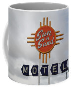 Route 66 - Santa Rosa New Mexico Coffee Mug by Frank Romeo