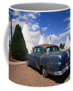 Route 66 Wigwam Motel And Classic Car Coffee Mug